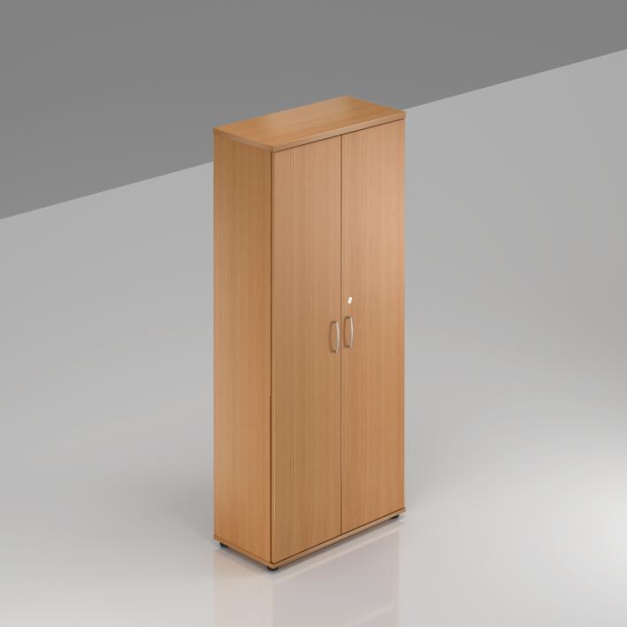 Kancelářská skříň Komfort, 80x38,5x183,5 cm, dveře 5/5  - S585 11