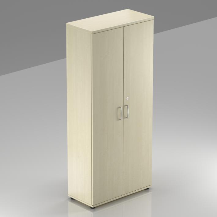 Kancelářská skříň Komfort, 80x38,5x183,5 cm, dveře 5/5  - S585 12