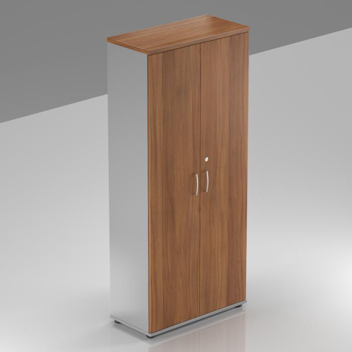 Kancelářská skříň Komfort, 80x38,5x183,5 cm, dveře 5/5  - S585 19