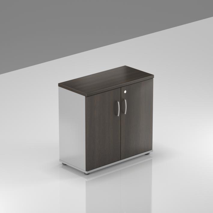 Kancelářský regál Komfort, 80x38,5x76 cm, dveře 2/2  - SB282 07
