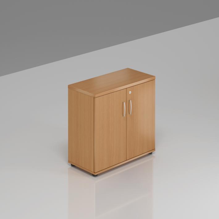 Kancelářský regál Komfort, 80x38,5x76 cm, dveře 2/2  - SB282 11