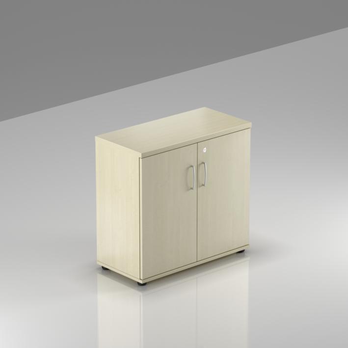 Kancelářský regál Komfort, 80x38,5x76 cm, dveře 2/2  - SB282 12