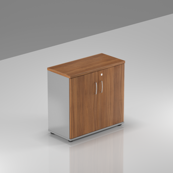 Kancelářský regál Komfort, 80x38,5x76 cm, dveře 2/2  - SB282 19