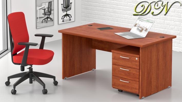 Sestava kancelářského nábytku Komfort 1.2, calvados - ZE 1.2 03