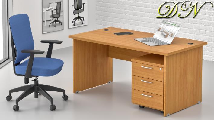 Sestava kancelářského nábytku Komfort 1.2, buk - ZE 1.2 11
