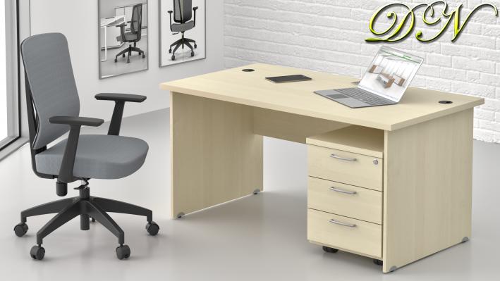 Sestava kancelářského nábytku Komfort 1.2, javor - ZE 1.2 12