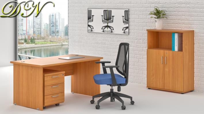 Sestava kancelářského nábytku Komfort 1.4, buk - ZE 1.4 11