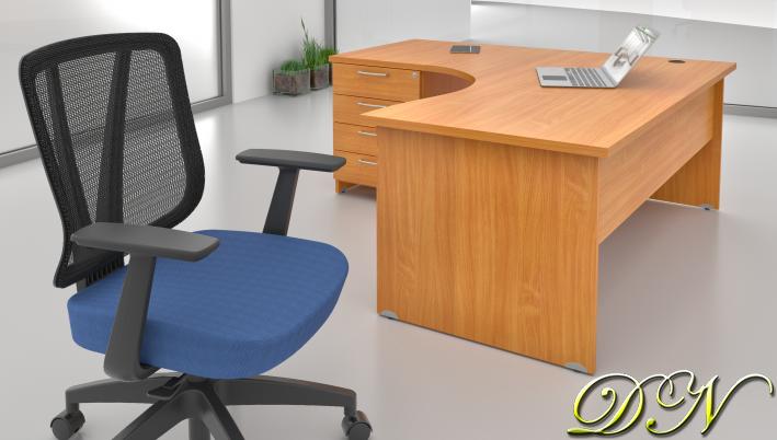 Sestava kancelářského nábytku Komfort 1.8, buk - ZE 1.8 11