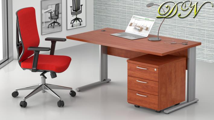Sestava kancelářského nábytku Komfort 1.2, calvados - ZEP 1.2 03