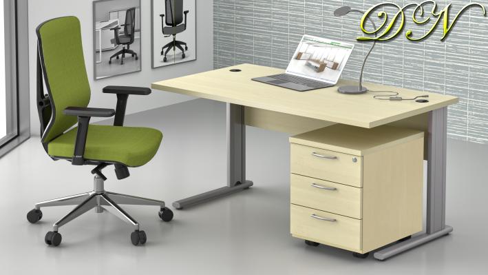 Sestava kancelářského nábytku Komfort 1.2, javor - ZEP 1.2 12