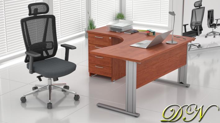 Sestava kancelářského nábytku Komfort 1.8, calvados - ZEP 1.8 03