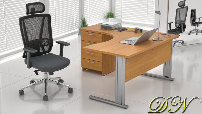 Sestava kancelářského nábytku Komfort 1.8, buk - ZEP 1.8 11